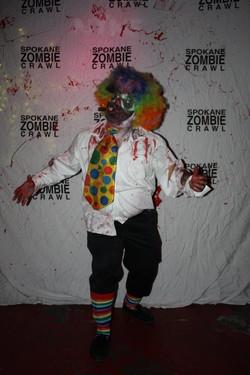 Spokane Zombie Crawl Clown