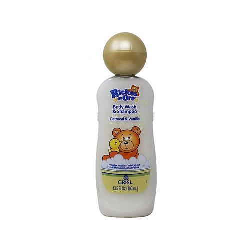 Shampoo & Body Wash Ricitos de Oro 400ml