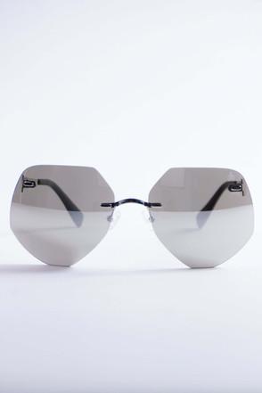Pompöös Sonnenbrille Frankfurt silber/grau