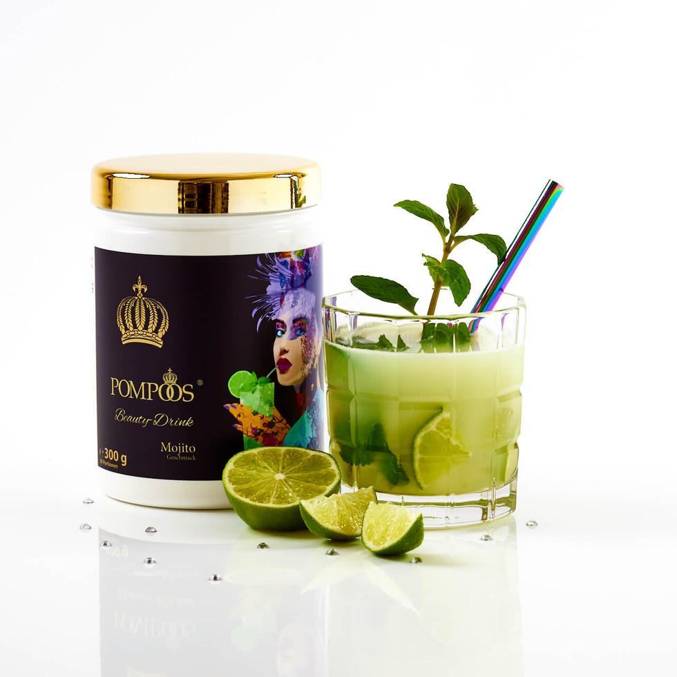 Pompöös Beauty Drink Mojito 300g (30 Portionen)