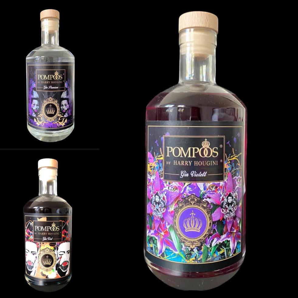 London Dry Premium / Vert / Violet Triple Set