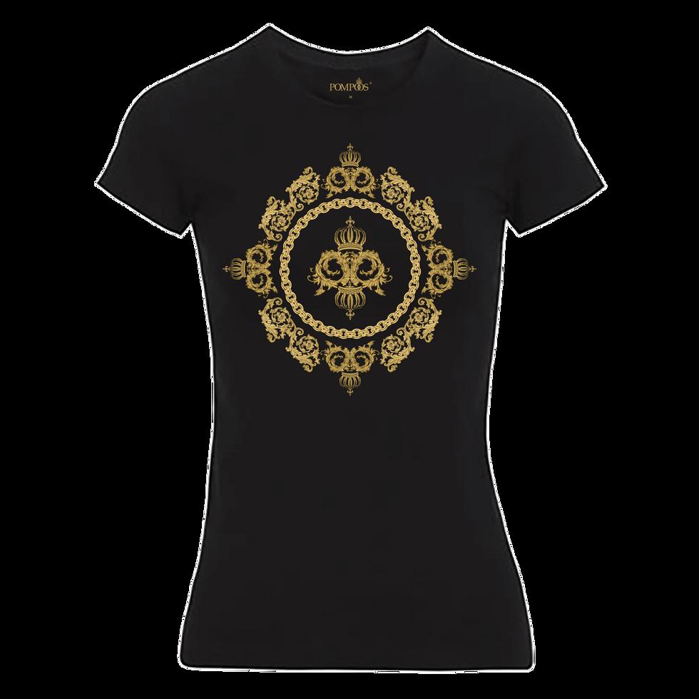 "Damen T-Shirt ""Krone"""