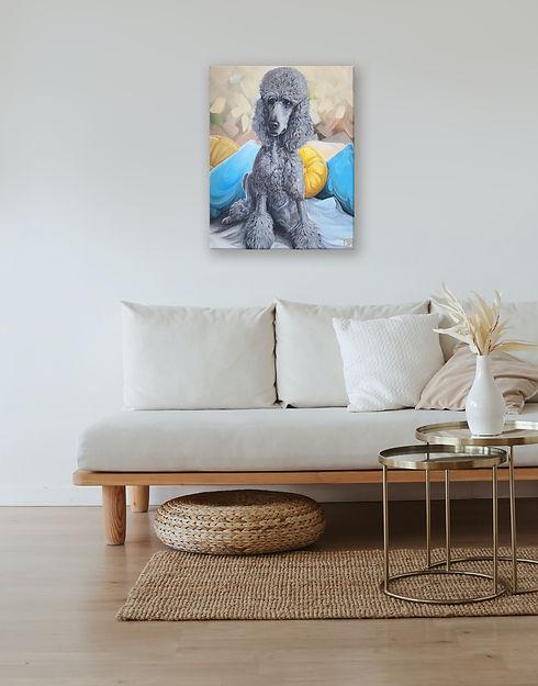 Poodle on wall.jpg