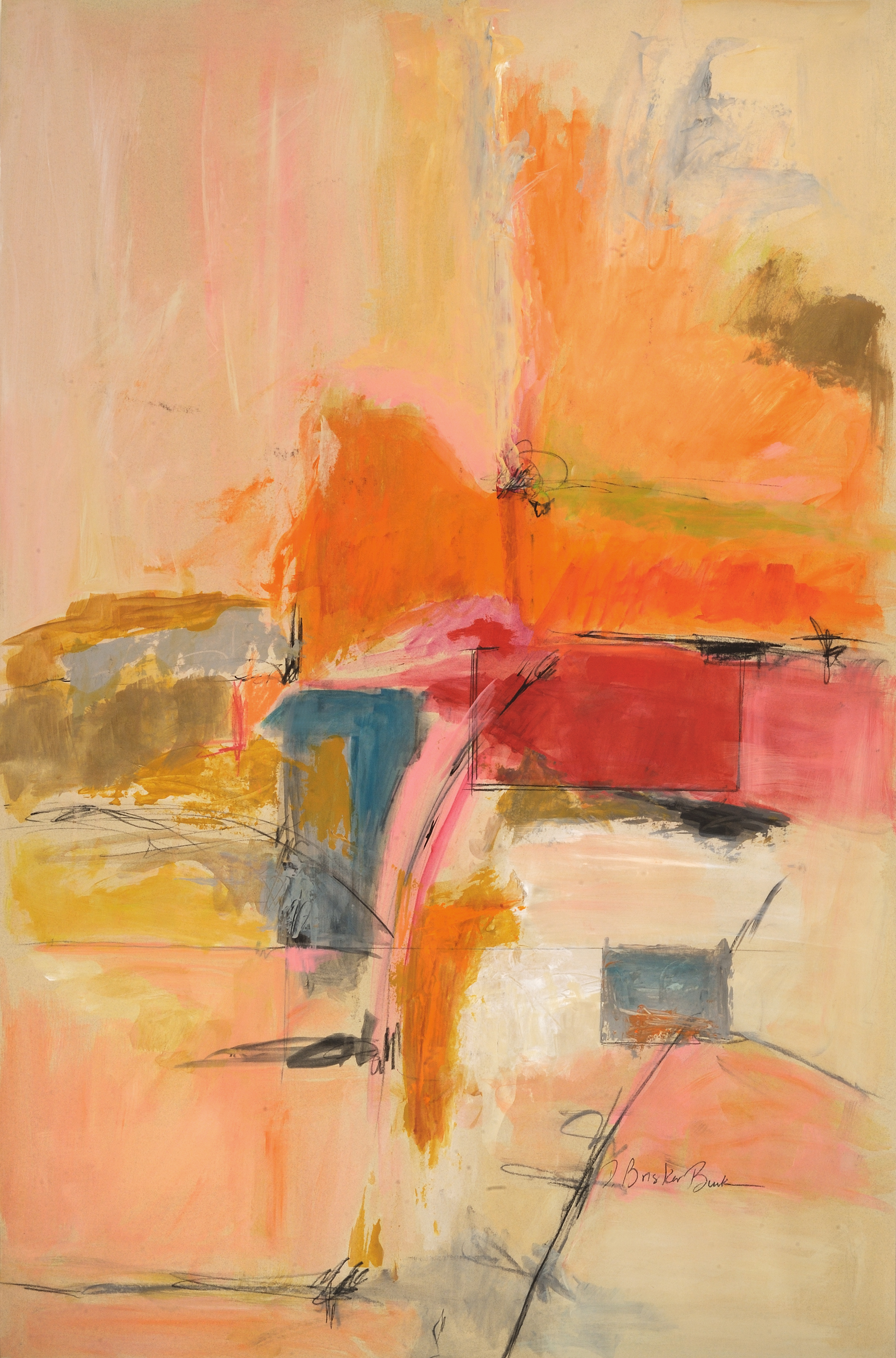 Abstract Considera, Deborah Brisker Burk