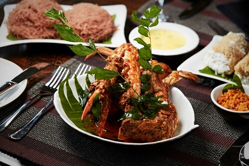 Crab curry: Jetwing Jaffna
