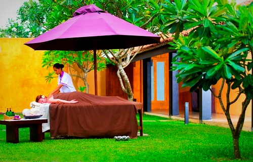 Massage: Avani Bentota Resort & Spa
