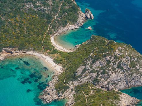 Limni beach in Paleokastritsa, Corfu Gre