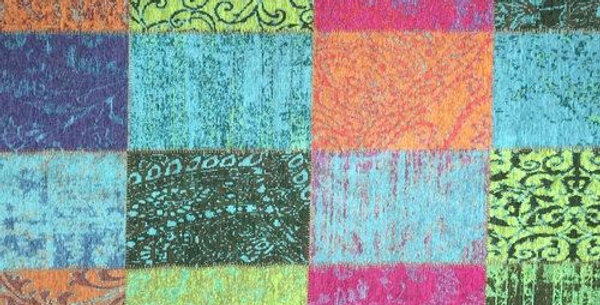 Modern Curio Crayon - Aqua - Green - Fuchsia  - Orange