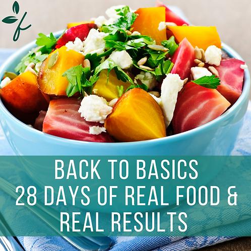 Back to Basics Nutrition Program