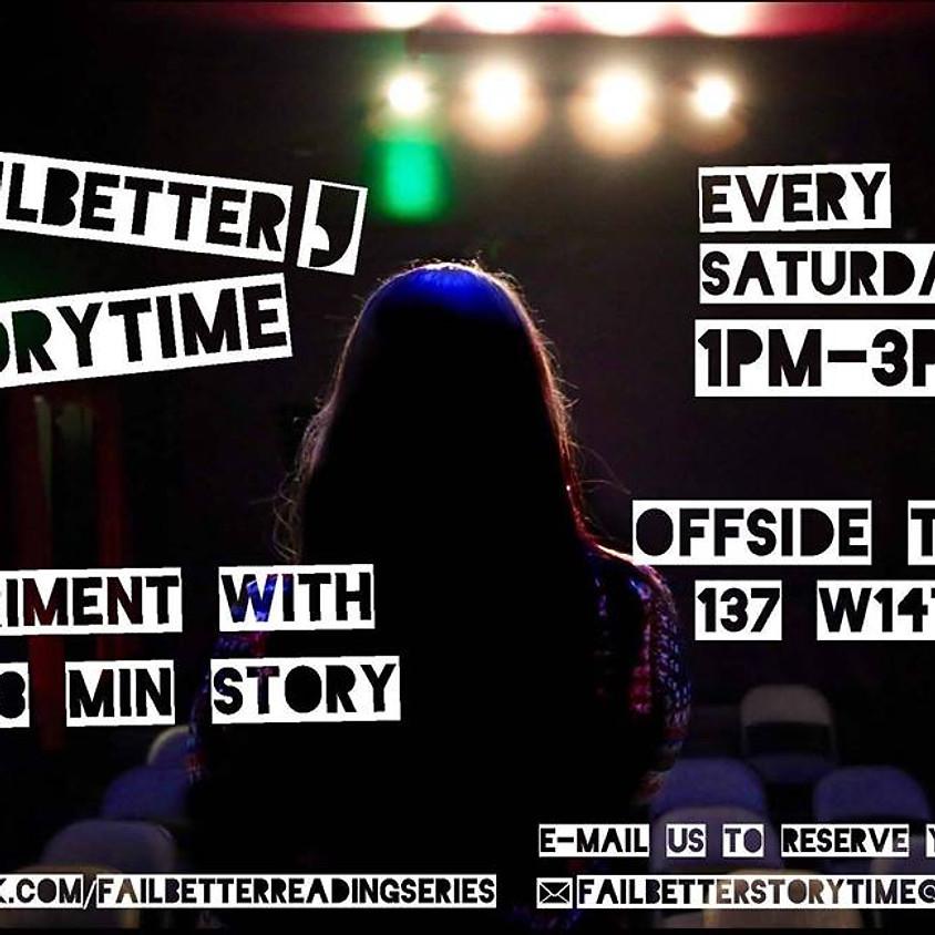 Fail Better Storytime
