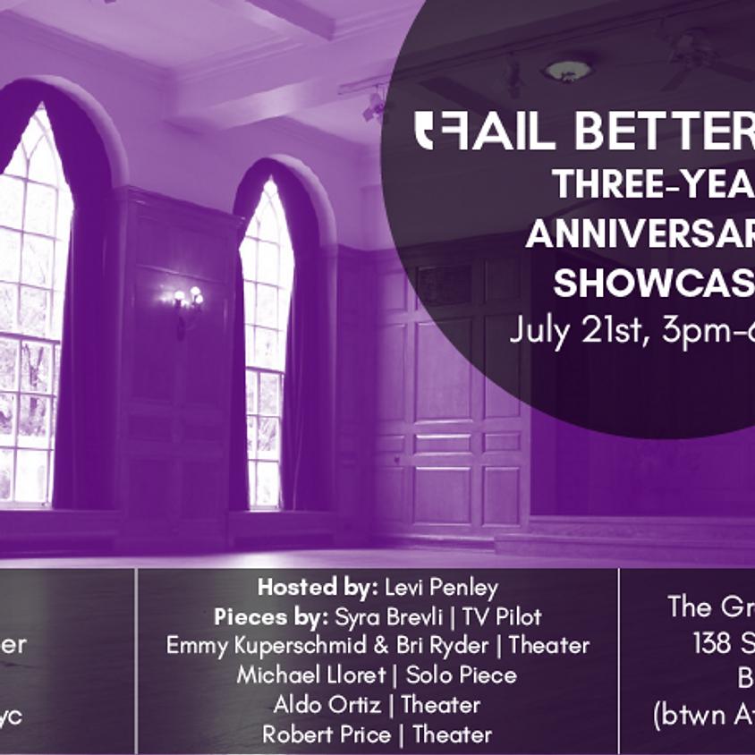 Three-Year Anniversary Showcase