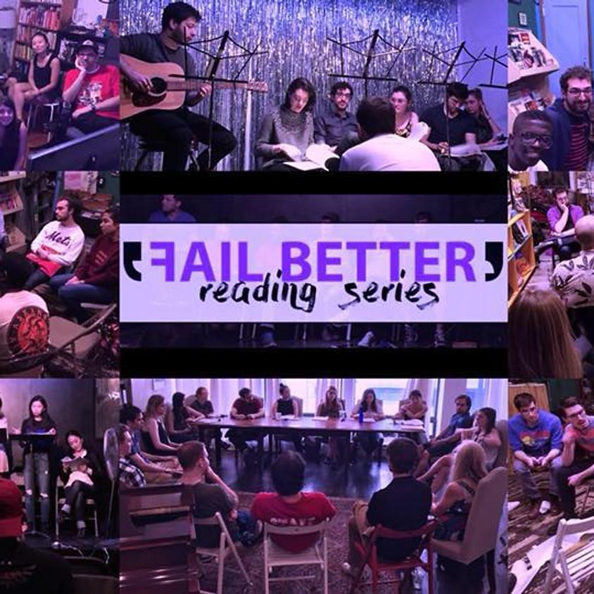 Fail Better Reading Series | Sunnyside Edition