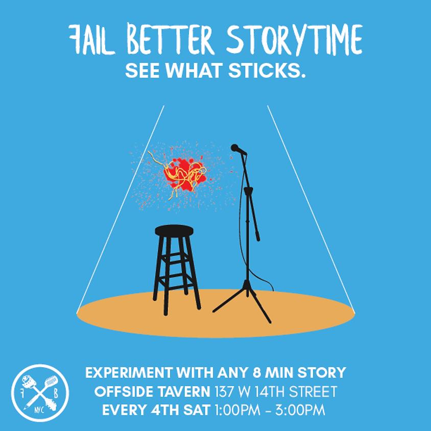 Fail Better Storytime December 2018