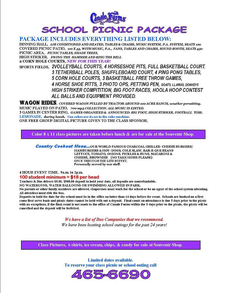 2020 SCHOOL PACKAGE package 100 min web