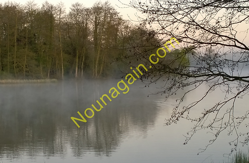 Mist on Gosfield Lake
