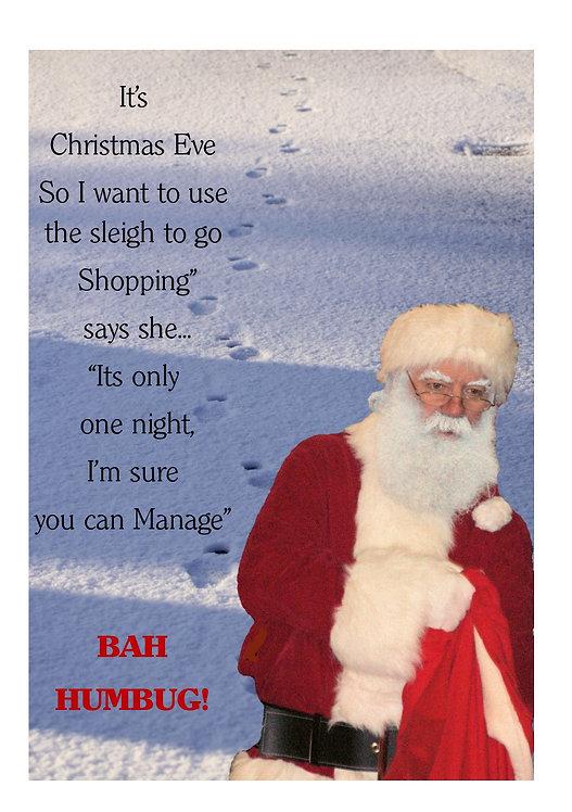 Bah Humbug E-Card