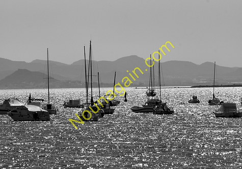 Boats in Black n White