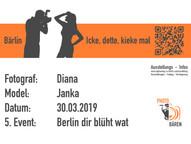 """5. Photobären Event """"Berlin dir blüht wat"""""""