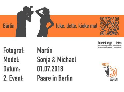 """2. Photobären Event """"Paare in Berlin"""""""