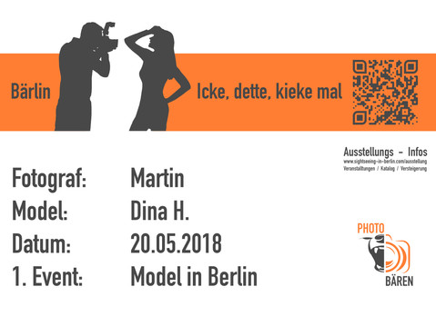 "1. Photobären Event ""Model in Berlin"""