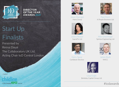 CEO & Co-Founder, Alex Greenhalgh makes the finals of IoD's Director of the Year Award