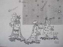 Vignetta satirica - re magi 1