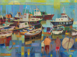 1992 Ormeggi a Palmaro 45x60