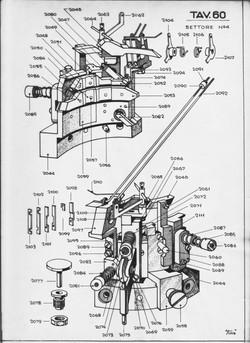 Disegno tecnico Tavola 60