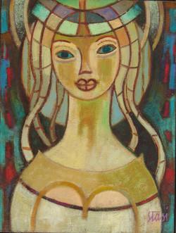 1977 La sognatrice  40x30