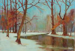 2003 Un jour de soleil en hiver   35x50
