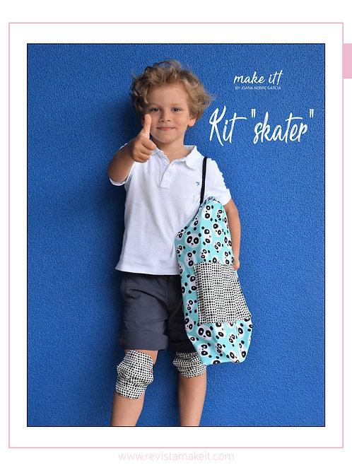 "kit ""skater"" saco+joelheiras/cotoveleiras"