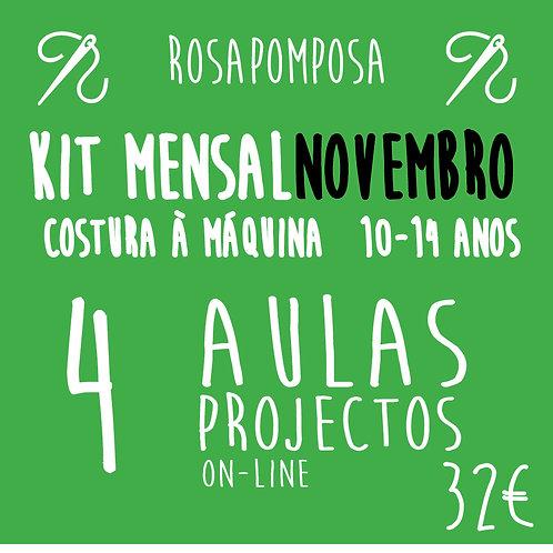 Kit Mensal à Máquina - Novembro