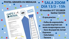 Workshop on-line Especial Dia do Pai dia13/3-15H