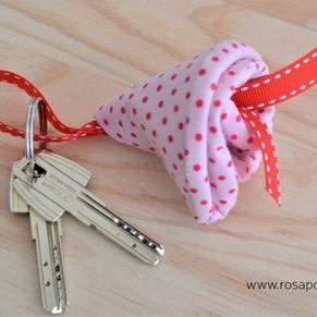 Porta chaves flor