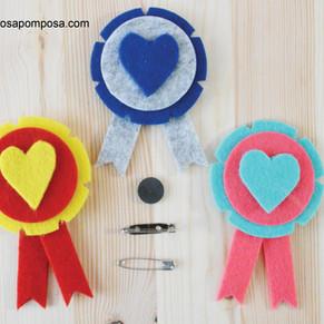Medalhas de amor!