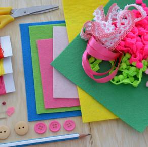 Ensinar ou costurar com crianças