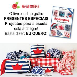 Novo livro on-line - PRESENTES ESPECIAIS Projectos para escola
