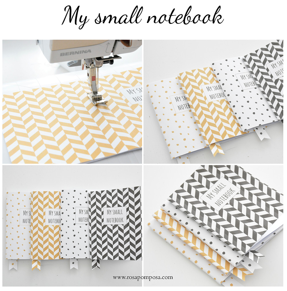 diy my small notebook rosapomposa