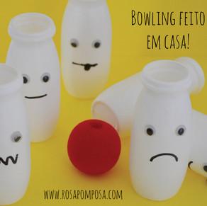 Bowling feito em casa!