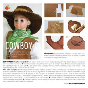 Máscara de Cowboy