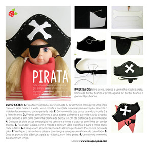 Máscara de Pirata