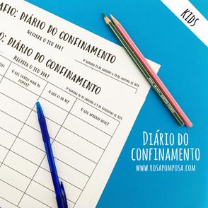 Diário do confinamento