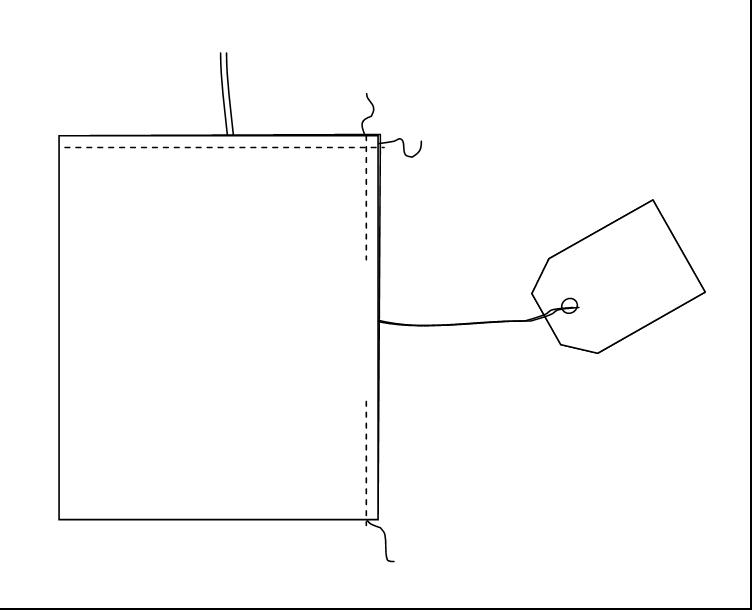 Como coser sacos de alfazema com etiqueta Rosapomposa