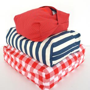Sacos para arrumar cobertores e edredões