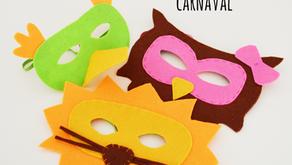 Máscaras de feltro