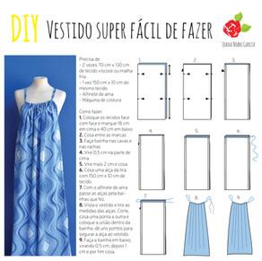 Vamos fazer um vestido super fácil!