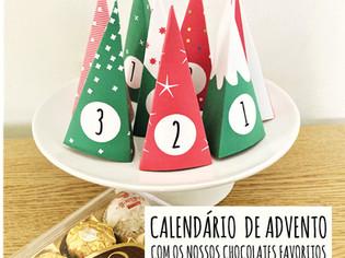 Calendário do advento para os nossos chocolates favoritos