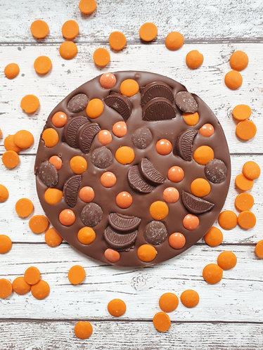 Large Orange Fully Loaded Slab