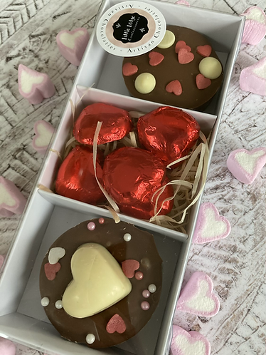 Valentines Cookie Duo Box