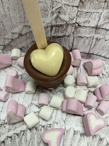 Valentines Hot Chocolate Stirrer